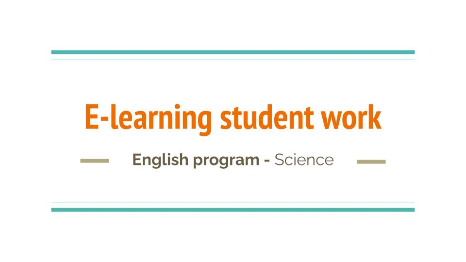 E-Learning | Science