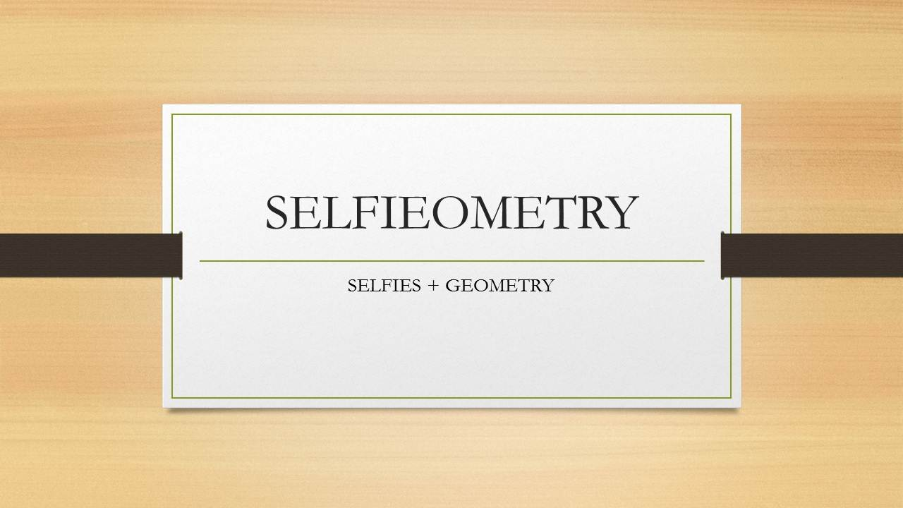 Grade 9 : Selfiometry Project